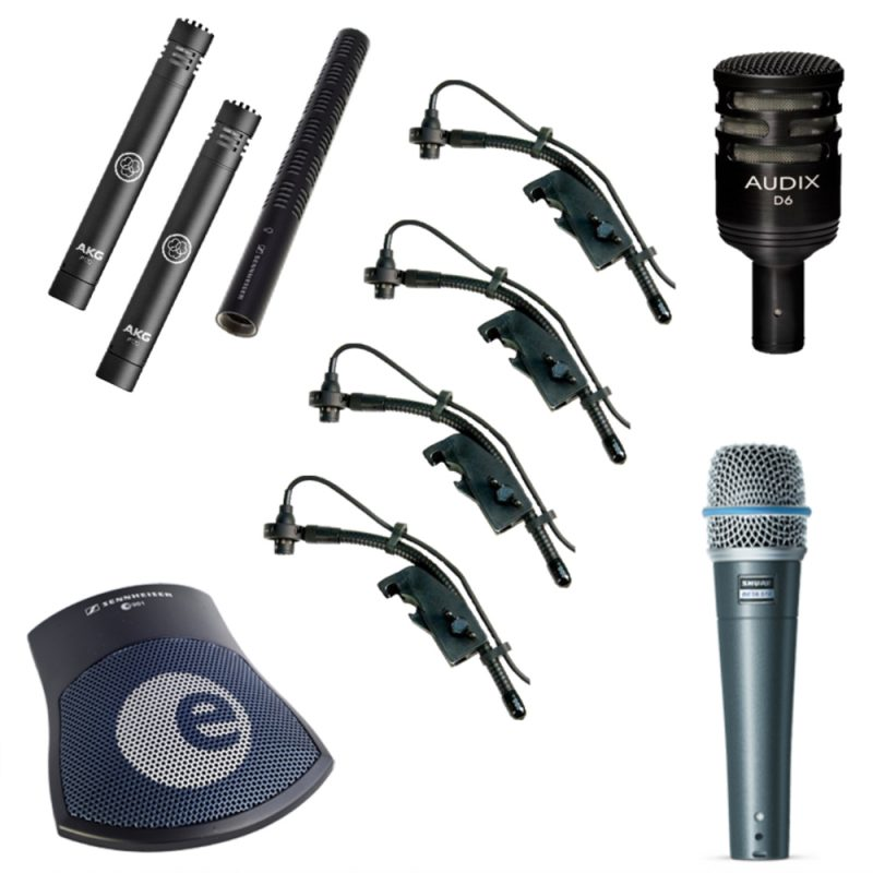 Drum Microphone Package
