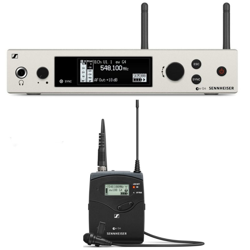 Lavalier Microphone - Sennheiser EW 100 G4
