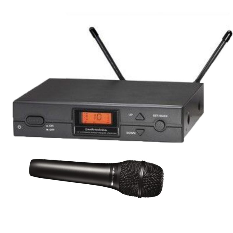 Wireless Microphone - Audio Technica ATW-2110b