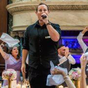 Singing Waiters Surprise Singers