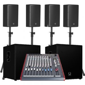 Audio Sound System 250 people